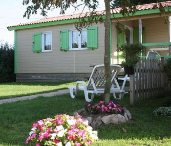 chalet 26,5m2 camping normandie
