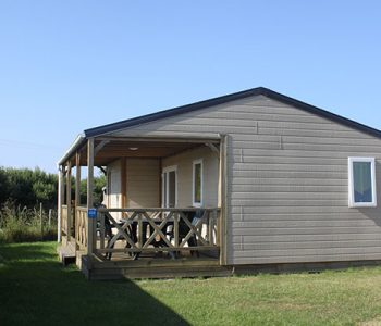 chalet 35m2 camping normandie